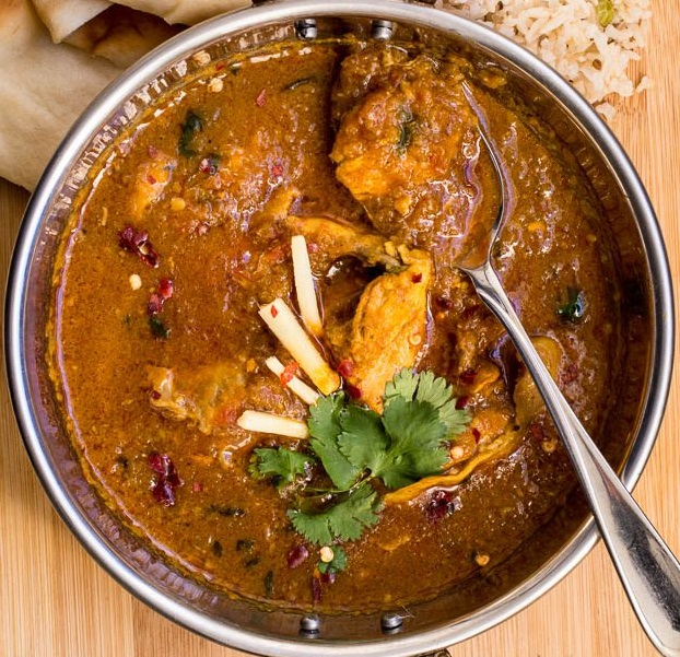 Traditional Indian Style Chicken Curry