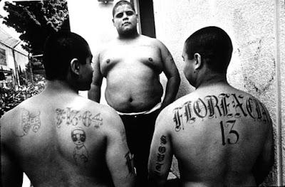 Miembros de la pandilla Florencia 13