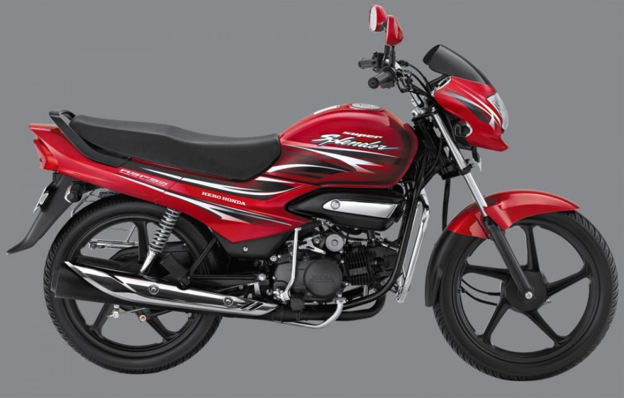 Bikerazy  Hero Honda Super Splendor 2011