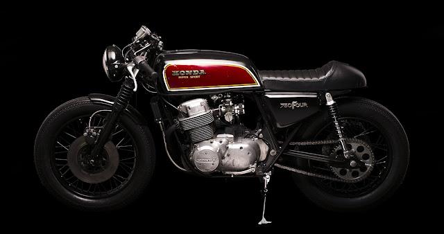 Honda CB750 By Atelier Medusa Hell Kustom