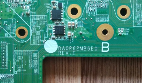 DA0R62MB6E0 REV-E R62 Hp 15-e029TX Bios