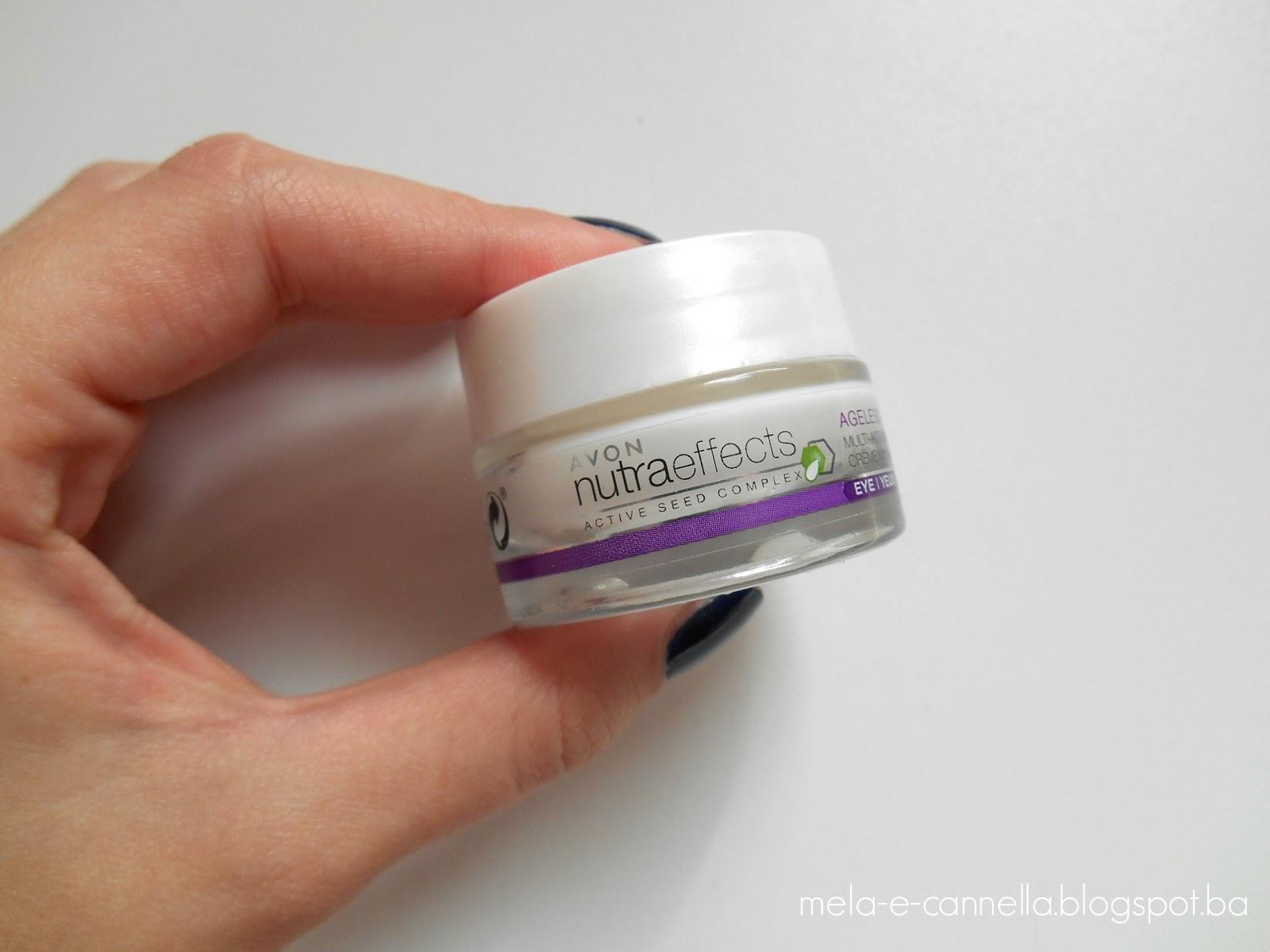 Mela E Cannella Avon Anew Nutri Advance Eye Cream