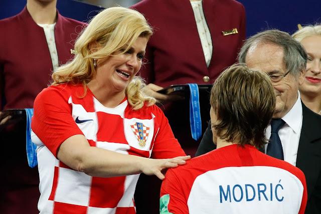 WORLD CUP 2018: Who is Croatian president Kolinda Grabar