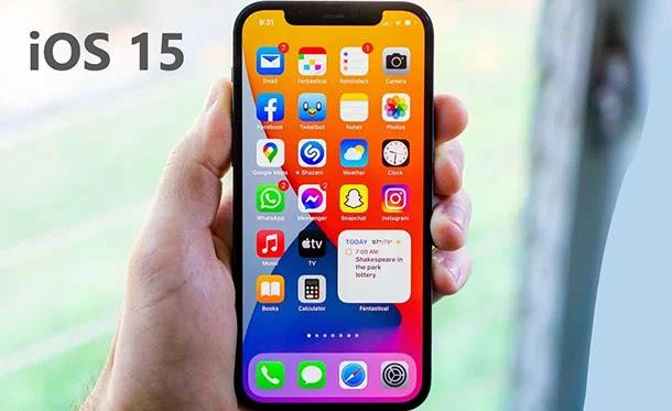 Fonctionnalités iOS 15 d'isolation vocale et de large spectre.