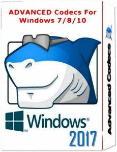 Advanced Codecs for Windows 7 / 8.1 / 10 v10.0.1