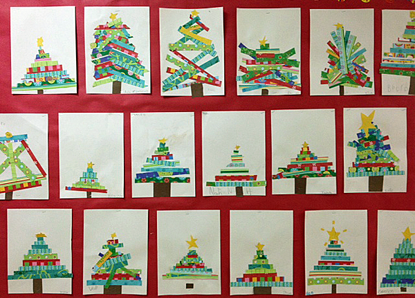 First Grade Christmas Party Craft Ideas