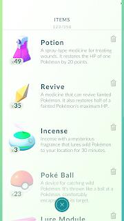 Fungsi dan Kegunaan Semua Item Game Pokemon Go