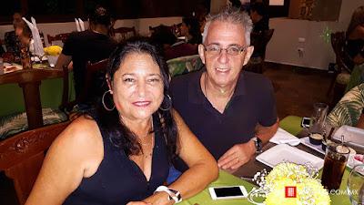 Carolina Ross y José Luis Domínguez.