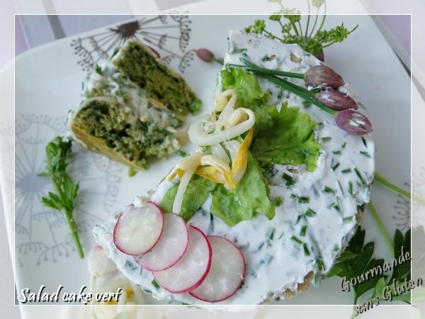 Le gâteau aux légumes