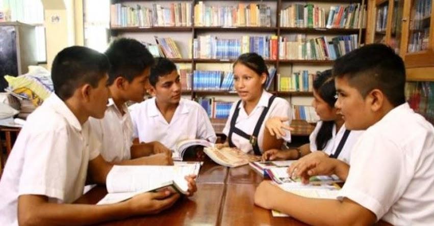 MINEDU espera cambios en sala del Poder Judicial donde se evalúa el Currículo Nacional Escolar