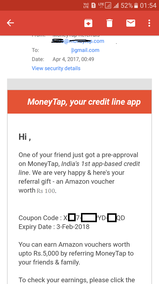 1286fd81a3a ... LOOT Amazon Gift Card. Note  if you are not verify KYC and not using  code   mone2849 then you not able to received anything. Credit Available  few city ...