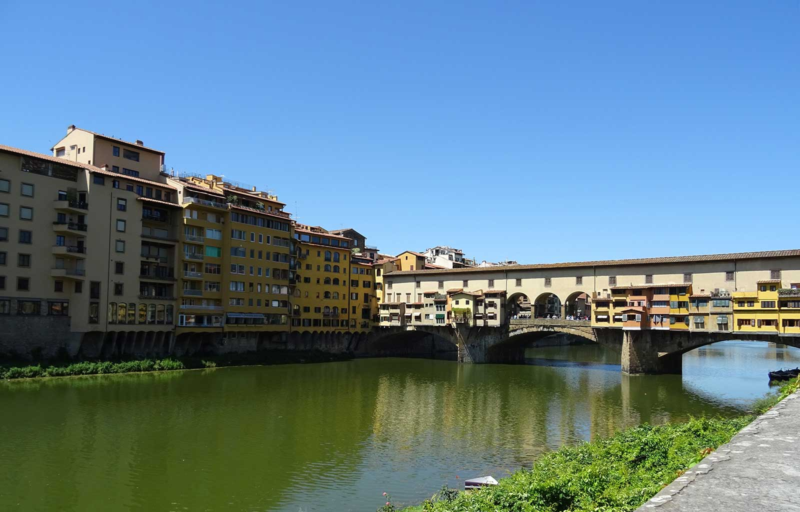 Voyage italie toscane Florence ponte vecchio