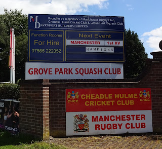 There's a lot of sports played at the Manchester Rugby Club venue in Cheadle Hulme