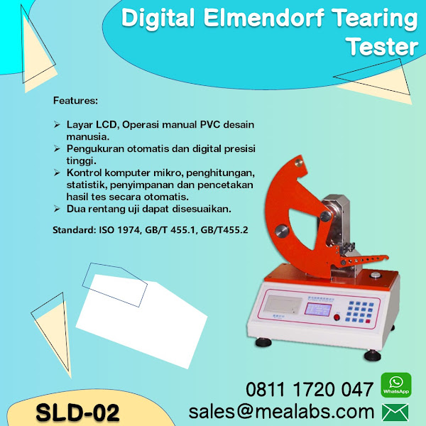 SLD-02 Paper Tearing Tester