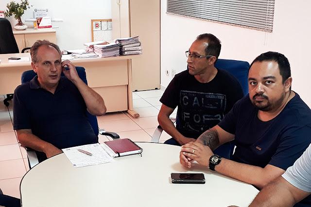 Purpur na reunião com a TCCC e o Sinttromar – Foto: Luiz Fernando Cardoso/Café com Jornalista