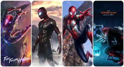 Realme X Spiderman edition theme and wallpaper download for Oppo Realme devices