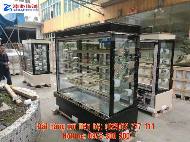 Tủ mát trưng bày bánh kem sinh nhật 5 tầng Đài Loan/Trung Quốc