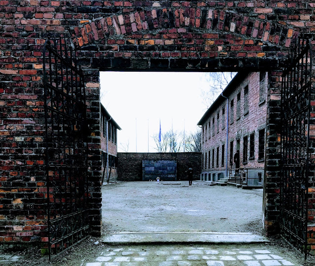 Block 11 and the death wall at Auschwitz : My visit to Auschwitz (and why you should visit too)