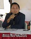 Ketua Dewan Pers Indonesia, Hence Mandagi: Legalitas Wartawan Sah Lewat Organisasi Pers