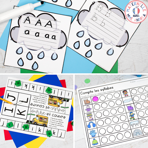 Are you a French primary teacher looking to get off the hamster wheel of literacy centre creation? Check out this blog post to see how you can snag 100 French literacy centres super inexpensively, and read all about how it'll make your teaching life way better!