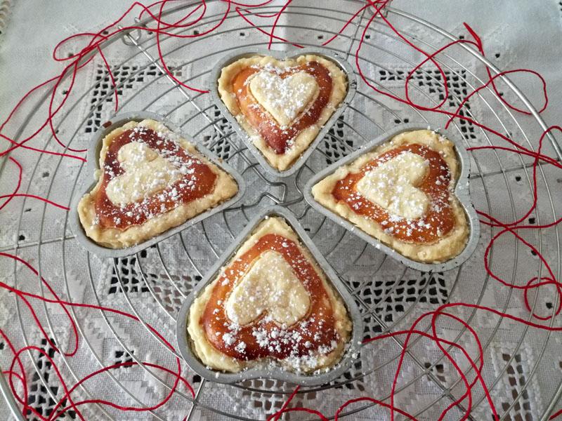 Dolci per San Valentino: Cuori dolci alla vaniglia