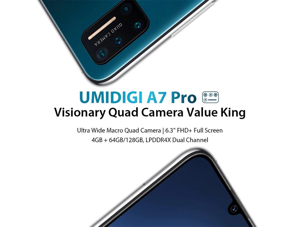 Smartphone A7 Pro
