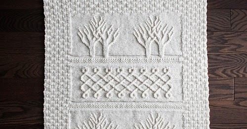 Daily Knitting Patterns Baby Tree Of Life Throw