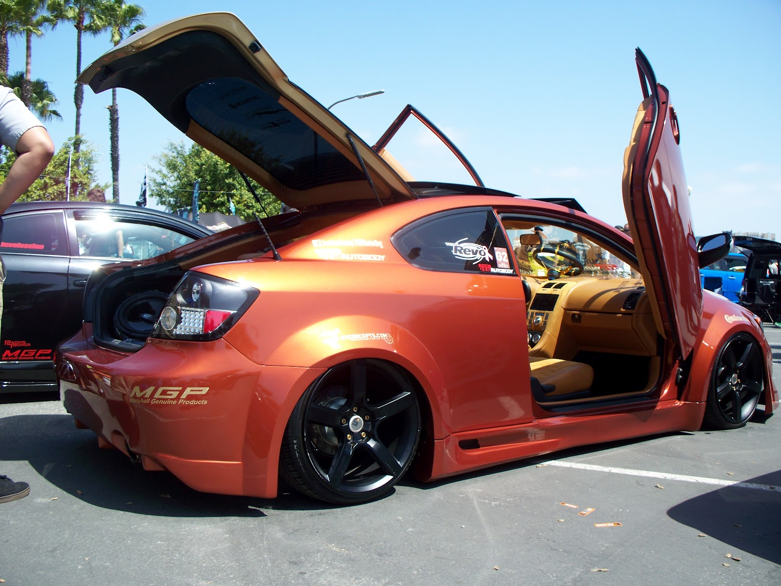 The Toyota Enthusiast Copper Scion With Lambo Doors