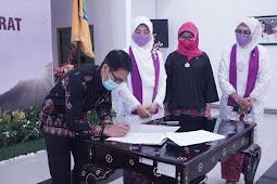 Niken Zulkieflimansyah Resmi Jadi Ketua PPI NTB 2021-2026