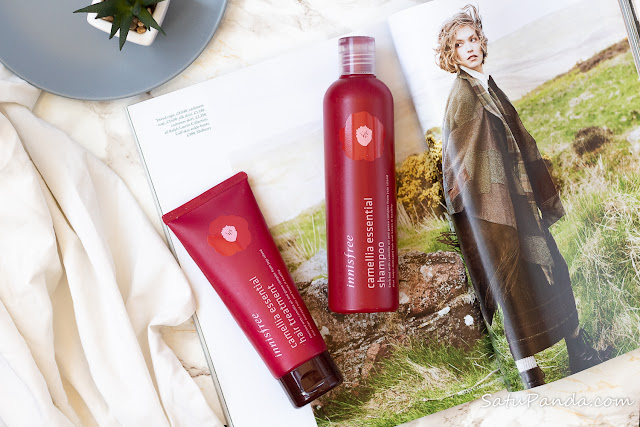 innisfree Camellia Essential Shampoo and Treatment отзыв