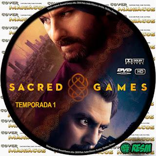 GALLETA - [SERIE DE TV] JUEGOS SAGRADOS - SACRED GAMES - 2018