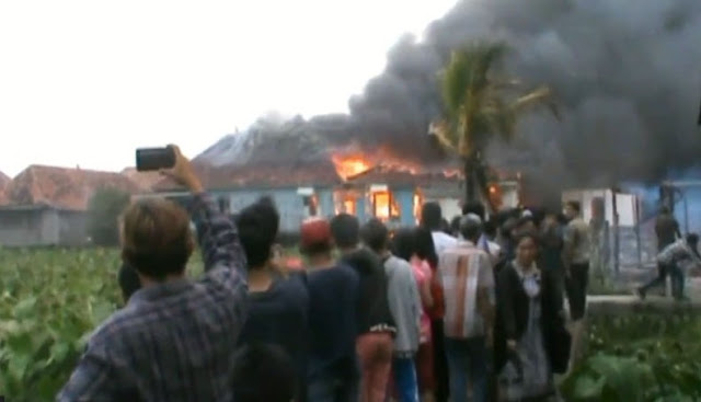Rumah Orangtua Kapolri Tito Karnavian Hangus Terbakar