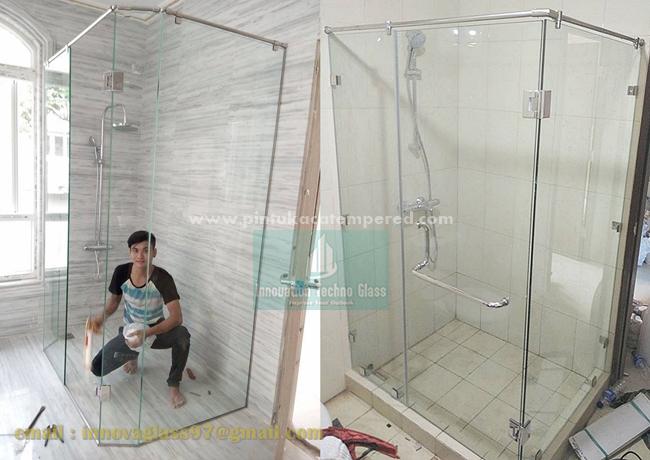 Pintu Kaca Kamar Mandi Shower