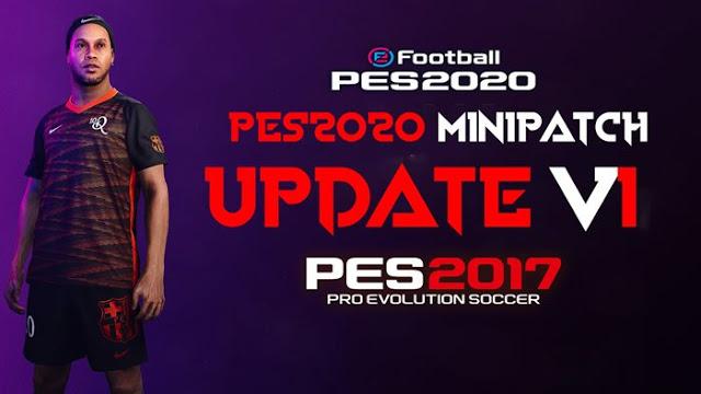 PES 2017 Mini Patch Like PES 2020 + Update V1