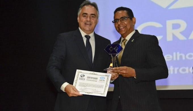 Pela segunda vez, Luciano Cartaxo tem modelo de gestão premiado pelo Conselho Federal de Administração