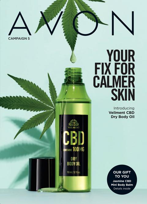 AVON Campaign 5 Brochure 2021 - Your Fix For Calmer Skin!