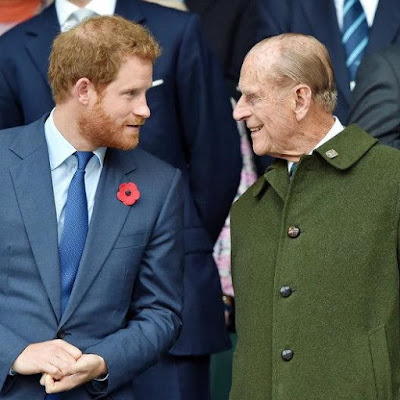 Prince Harry has posted an in memoriam for his Grandfather, Prince Phillip