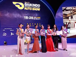Pemenang dan Para Finalis Miss Auto Show 2019