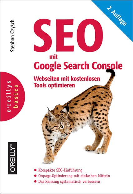 SEO mit Google Search Console - Cover O'Reilly - Blog Topfgartenwelt