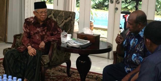 Pendeta Papua Minta Kiai Ma'ruf Seperti Gus Dur dalam Tangani Konflik Papua