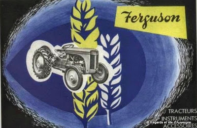 Tracteur agricole ancien