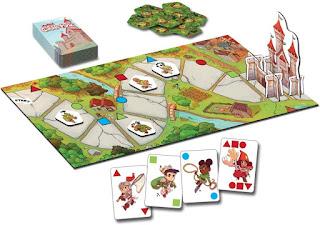Contenido de My First Castle Panic the board game