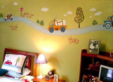 دهان غرف أطفال 2020 بالوان حمصي