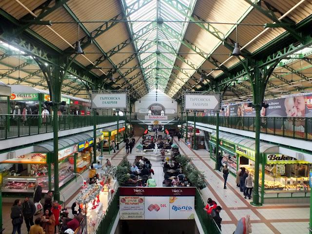 visitar mercado central de Sofia Bulgaria