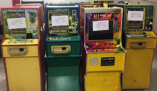 Asegura FGR en Yucatán 25 máquinas tragamonedas