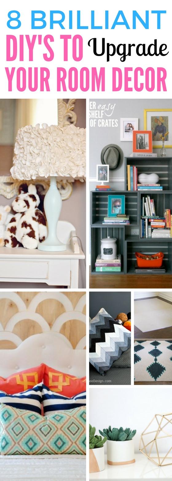 8 brilliant diy s to upgrade your room decor craftsonfire