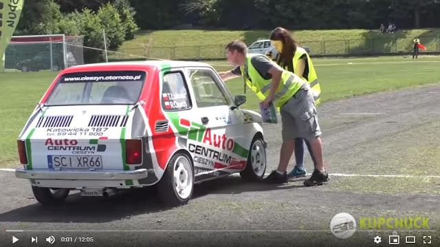 Fiat 126p rally car