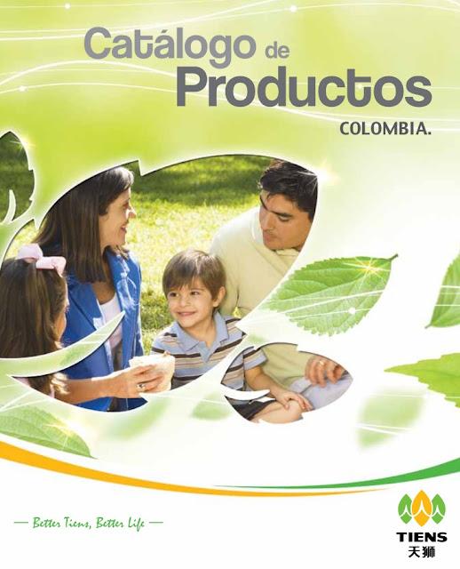 Catalogo Productos Tiens Colombia