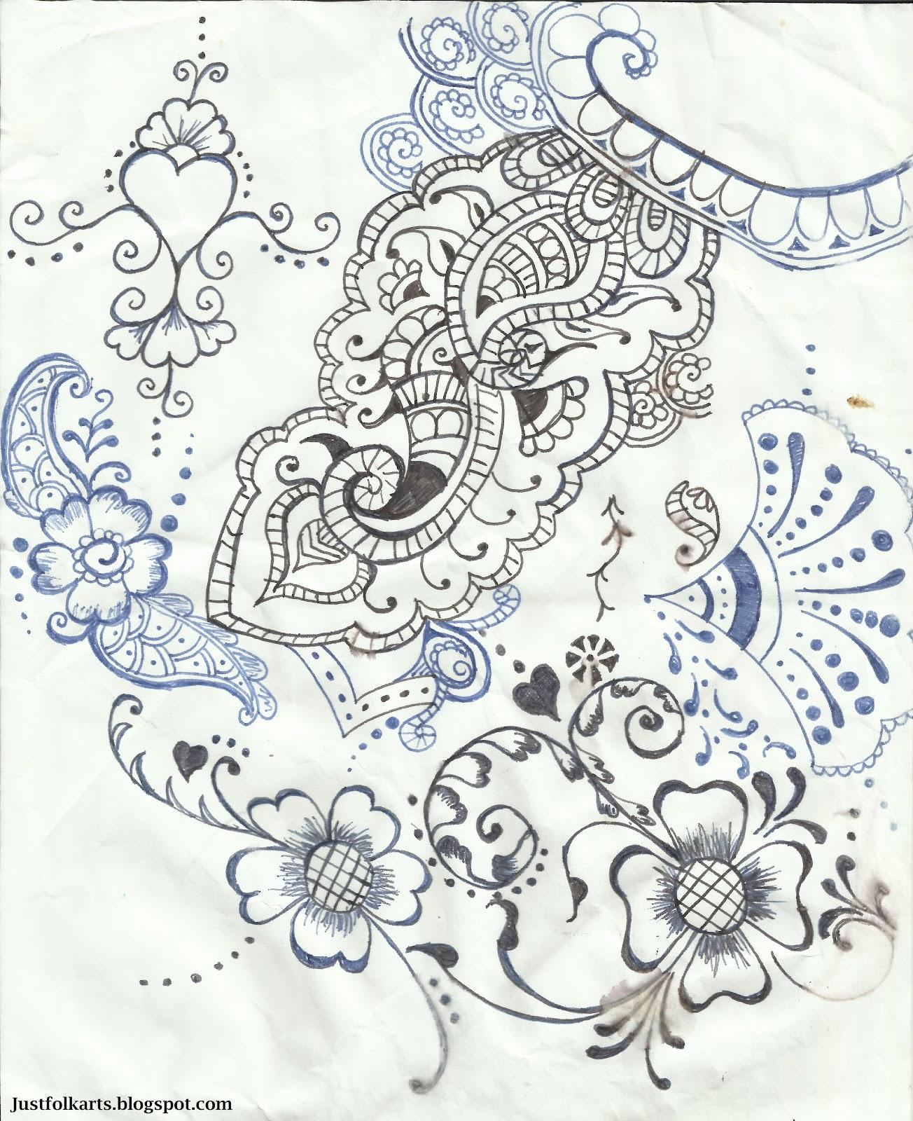 Black Henna Tattoo While Pregnant: Just Folk Art: A Word About Henna Tattoos