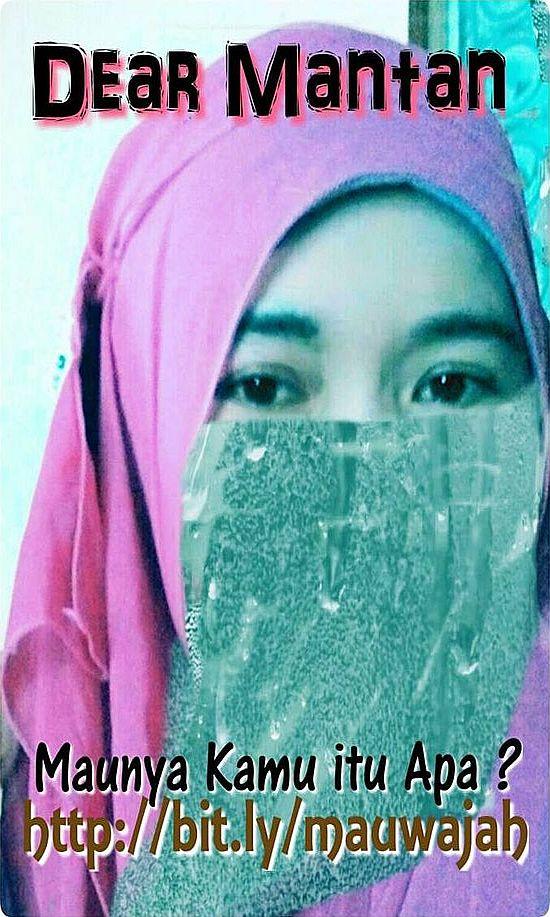 meme soraya gadis hijaber dear mantan maunya kamu apa